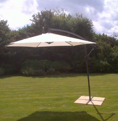 3.0 Mtr Cantilever Free standing Parasol