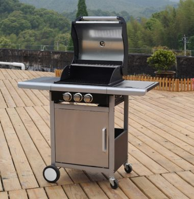 3 Burner Stainless Steel Gas Barbeque
