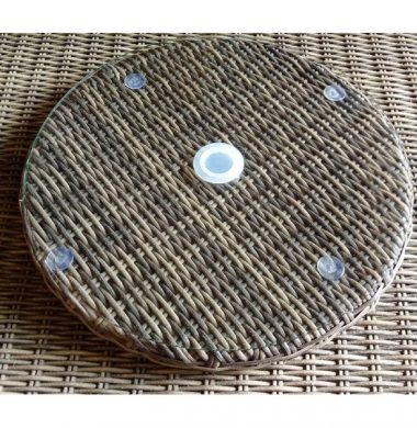 Complete Luxury Weave Rattan 60cm Lazy susan