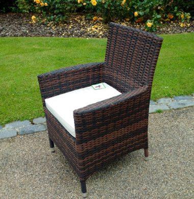 Manhattan Brown/Black Mix Weave Chair